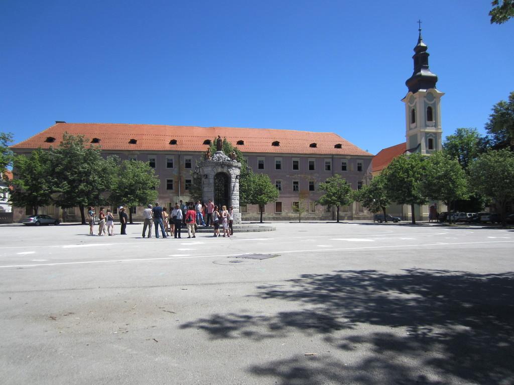 Glavni trg u Karlovcu