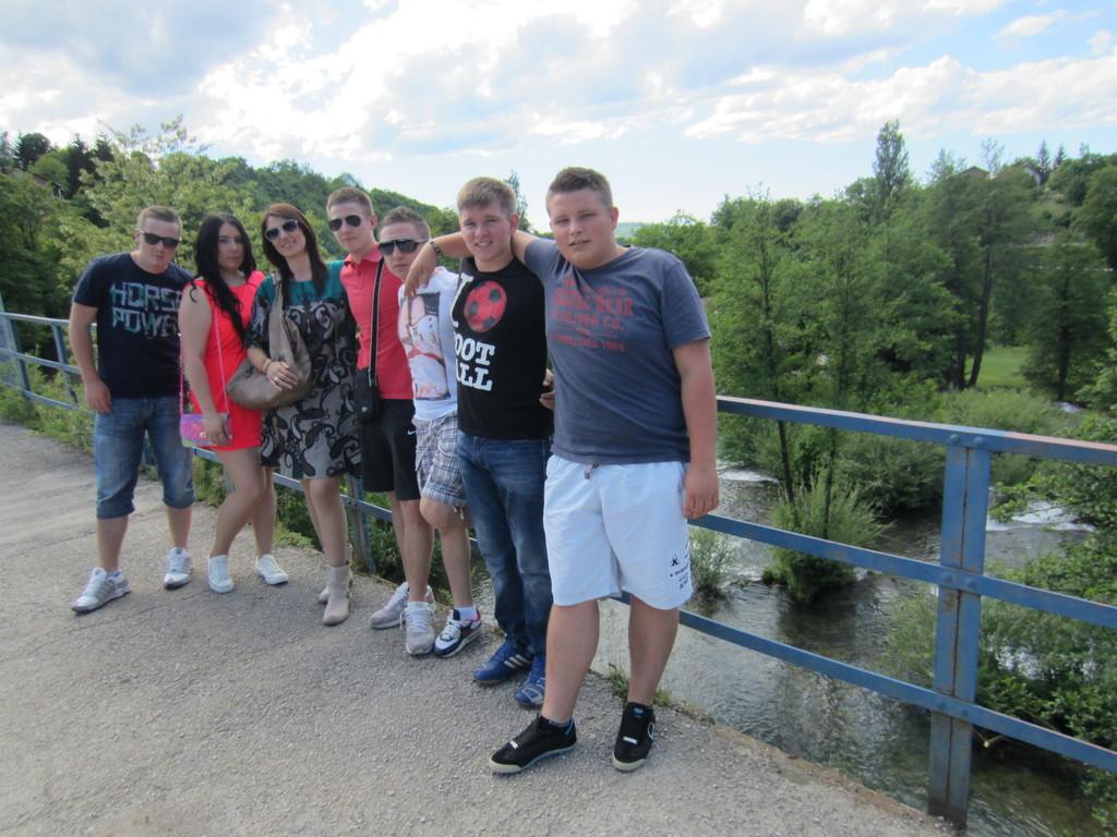 Na mostu u Rastokama